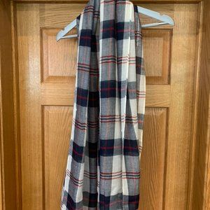 Plaid Light Weight Scarf